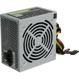 Блок питания ATX 500W Aerocool 500W Retail ECO-500W ATX v2.3 Haswell, fan 12cm, 400mm cable, power cord, 20+4P, 12V 4P, 1x PCI-E 6P, 3x SATA, 2x PATA, 1x FDD