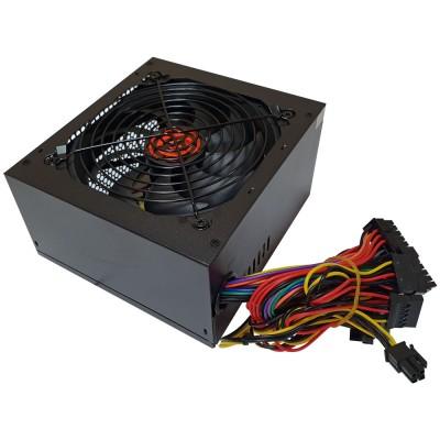 Блок питания ATX 500W Ginzzu SB500 мощность 500 Вт, вентилятор 120x120 мм