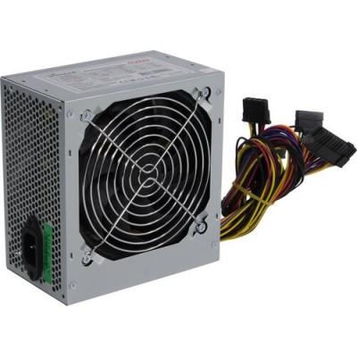 Блок питания ATX 450W Winard 450W (450WA12) ATX, 12cm fan, 20+4pin +4Pin, 2*SATA, 1*FDD, 2*IDE  silver  RTL