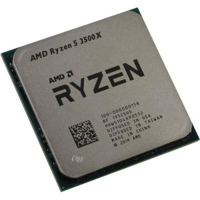Процессор AMD RYZEN X6 R5-3500X, 6/6, 3.6-4.1GHz, 384KB/3MB/32MB, AM4, 65W, 100-000000158 OEM