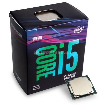 Процессор INTEL Core i5-9400F Coffee Lake BOX {2.9-4.1 GHz, 6 cores, 6 threads, 9MB cache, 65W TDP, 65W TSS, LGA1151, Coffee Lake}